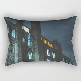 Abandon Hospital- Memphis Photo Print Rectangular Pillow