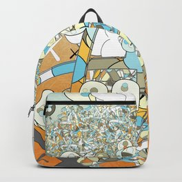 Nested Composition 3 Backpack