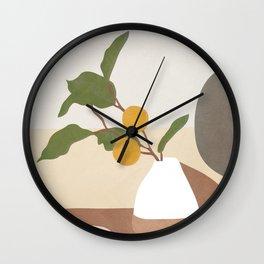 Mandarin Branch Wall Clock