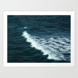 The Blue I Art Print