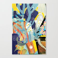 Aquatic 2 Canvas Print