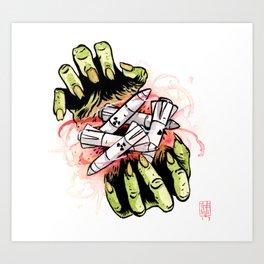 Nuclear Bonanza Art Print