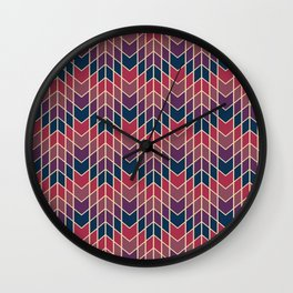 Jag Dusk Wall Clock
