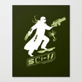 SCI-FI Rocks Canvas Print