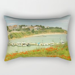 Feel free !!! Rectangular Pillow