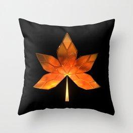 Autumn Leaves: Frame 260 Throw Pillow
