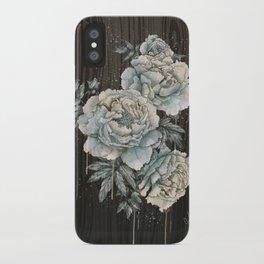 Peony Wood iPhone Case