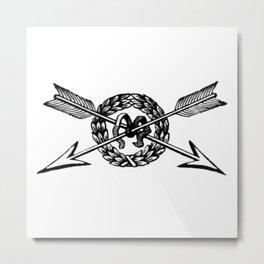 Arrows 2 Metal Print
