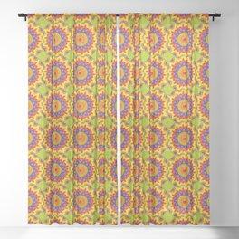 Fiesta Mosaic Sheer Curtain