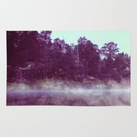 lake Area & Throw Rugs featuring Lake by 83 Oranges™