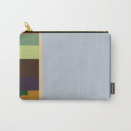 GREEN BENCH BY THE STREET Carry-All Pouch