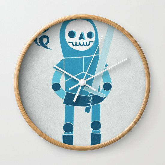 Winter Is Coming Wall Clock