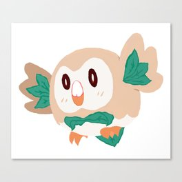Rowlet Canvas Print