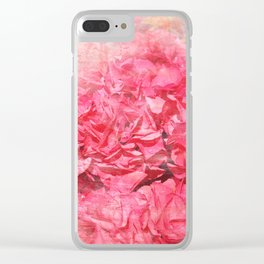 Pink bloom Clear iPhone Case