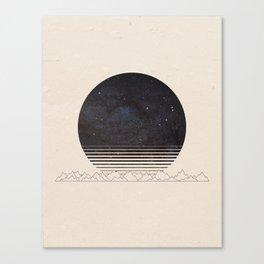 Spacescape Variant Canvas Print