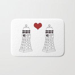 Daleks need love too Bath Mat