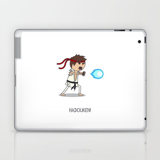 Hadouken! Laptop & iPad Skin