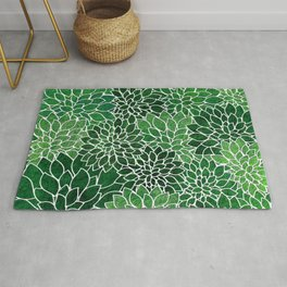 Floral Abstract 23 Rug