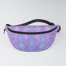 Lavender Dreams Abstract Fanny Pack