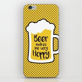 Beer Makes Me Hoppy iPhone Skin