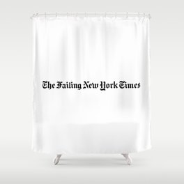 The Failing New York Times Shower Curtain