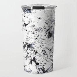 Black and White Abstract 4 Travel Mug