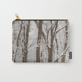 Trees in winter Carry-All Pouch