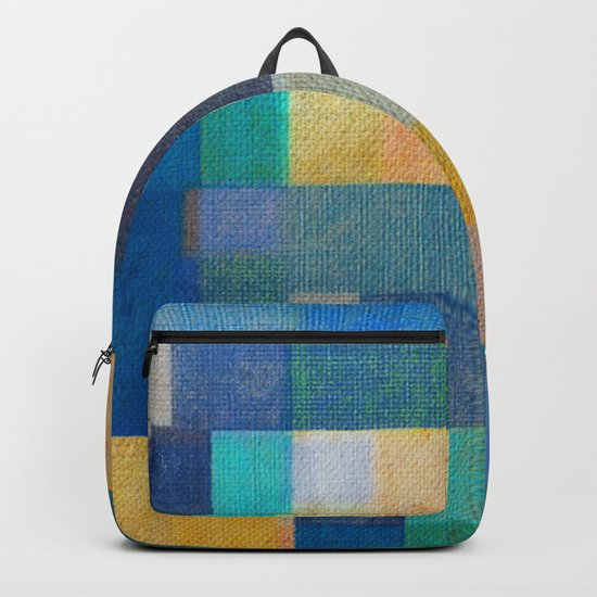 Blue Autumn Backpack