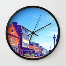 Summer in Annapolis Wall Clock