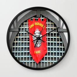 A Day at the Faire Wall Clock