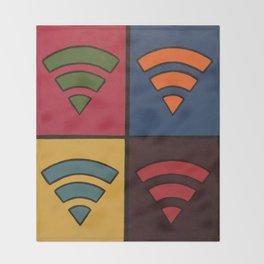 WiFi Tiles Throw Blanket