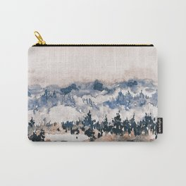 Watercolor Pine Trees Carry-All Pouch