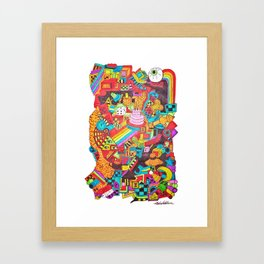 Can't Even Framed Art Print
