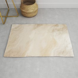 Brown Turquiose Marble texture Rug