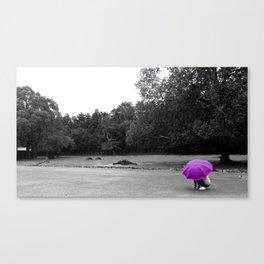 Purple Distant Canvas Print