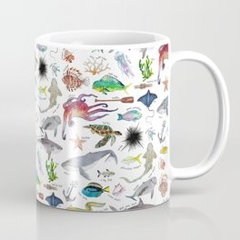Under the Sea Alphabet Coffee Mug