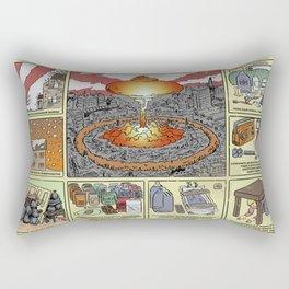 Nuclear Survival Poster Rectangular Pillow