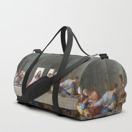 The Last Supper by Leonardo da Vinci Duffle Bag