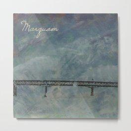 Marquam Bridge Metal Print