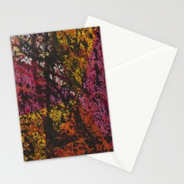 Corner Splatter # 12 Stationery Cards