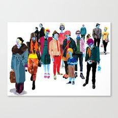 Pandilla Canvas Print