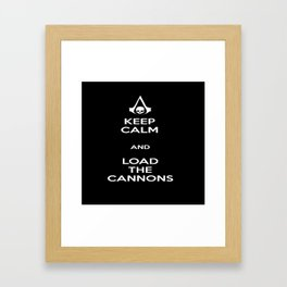 Load the Cannons Framed Art Print