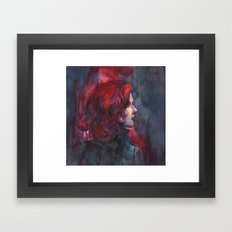Widow Framed Art Print