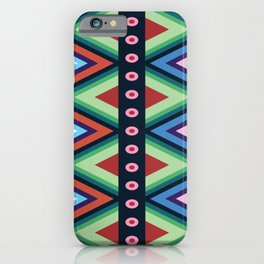 Huichol Mexican Art iPhone Case