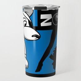 Danger Zone - Blue Travel Mug