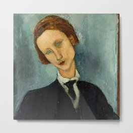 "Amedeo Modigliani ""Monsieur Baranowski"" Metal Print"