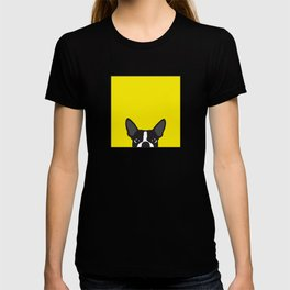 Boston Terrier Yellow T-shirt