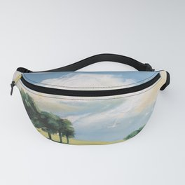 original abstract landscape painting number 9 Fanny Pack