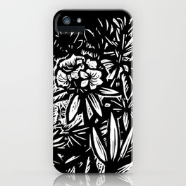Carolina Rhododendron iPhone Case