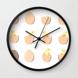 My sweet chick Wall Clock